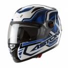Moto přilba ASTONE GT BURNING modrá