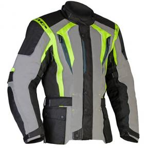 BUDDY GREEN - pánská textilní moto bunda