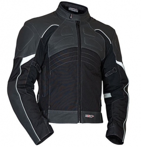 LANTA - moto bunda kůže + textil