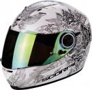 Moto přilba SCORPION EXO-490 DREAM bílý chameleon