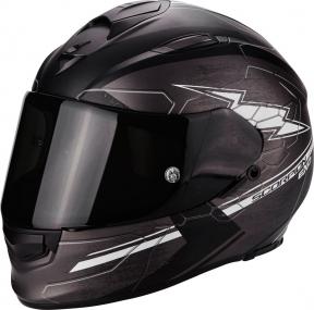 Moto přilba SCORPION EXO-510 AIR CROSS matná tmavě šedo/černo/bílá