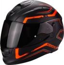 Moto přilba SCORPION EXO-510 AIR RADIUM matná černo/oranžová