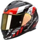 Moto přilba SCORPION EXO-510 AIR SCALE černo/neonově červená