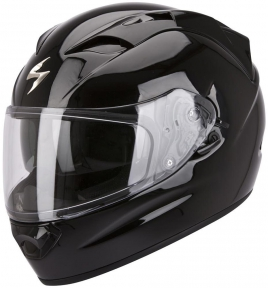Moto přilba SCORPION EXO-1200 AIR solid černá