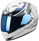 Moto přilba SCORPION EXO-1200 AIR FULMEN pearl bílá/černý chameleon/černá