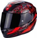 Moto přilba SCORPION EXO-1200 AIR SOLIS černo/červená