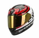 Moto přilba SCORPION EXO-2000 EVO AIR FORTIS černo/červená