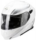 Moto přilba SCORPION EXO-920 GEM pearl bílo/stříbrná