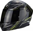 Moto přilba SCORPION EXO-920 SATELLITE černo/neonově žlutá