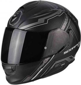 Moto přilba SCORPION EXO-510 AIR SYNC matná černo/stříbrná
