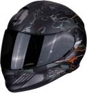 Moto přilba SCORPION EXO-510 AIR LIKID matná černo/oranžová