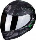 Moto přilba SCORPION EXO-510 AIR LIKID matná černo/zelená