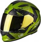 Moto přilba SCORPION EXO-510 AIR MARCUS matná zeleno/černá