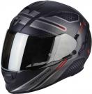 Moto přilba SCORPION EXO-510 AIR ROUTE matná černo/červená