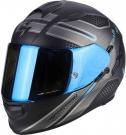 Moto přilba SCORPION EXO-510 AIR ROUTE matná černo/modrá