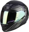 Moto přilba SCORPION EXO-510 AIR ROUTE matná černo/zelená