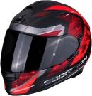 Moto přilba SCORPION EXO-510 AIR CLARUS matná černo/červená