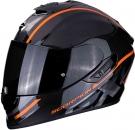 Moto přilba SCORPION EXO-1400 CARBON AIR GRAND oranžová