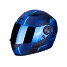 Moto přilba SCORPION EXO-490 DAR matná černo/modrá