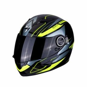 Moto přilba SCORPION EXO-490 NOVA černo/žlutá