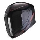 Moto přilba SCORPION EXO-920 FLUX černo/červená