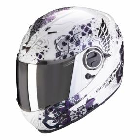 Moto přilba SCORPION EXO-490 DIVINA bílý chameleon