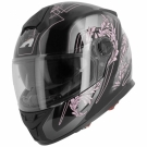 Moto přilba ASTONE GT800 EVO PRIMAVERA černo/růžová