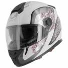 Moto přilba ASTONE GT800 EVO PRIMAVERA bílo/růžová