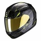 Moto přilba SCORPION EXO-390 BEAT černo/neonově žlutá