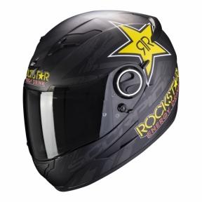 Moto přilba SCORPION EXO-490 ROCKSTAR černá matná