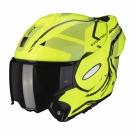 Moto přilba SCORPION EXO-TECH SQUARE neonově žluto/černá