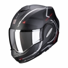 Moto přilba SCORPION EXO-TECH SQUARE matná černo/červená