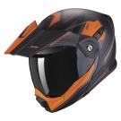 Moto přilba SCORPION ADX-1 TUCSON matná černo/oranžová