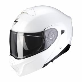 Moto přilba SCORPION EXO-930 solid bílá