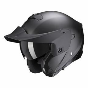 Moto přilba SCORPION EXO-930 solid matná perleťově černá