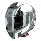 Moto přilba ASTONE RT1300F ONE bílo/tmavě šedá