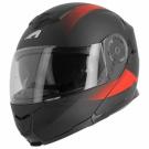 Moto přilba ASTONE RT1200 VANGUARD matná černo/červená