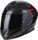 Moto přilba SCORPION EXO-920 SHUTTLE černo/stříbrno/červená