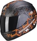 Moto přilba SCORPION EXO-390 CUBE matná černo/oranžová