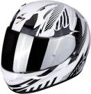 Moto přilba SCORPION EXO-390 POP bílo/černá