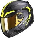 Moto přilba SCORPION EXO-490 SUPERNOVA černo/neonově žlutá
