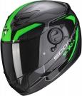 Moto přilba SCORPION EXO-490 SUPERNOVA černo/zelená