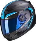 Moto přilba SCORPION EXO-490 SUPERNOVA černo/modrá