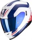 Moto přilba SCORPION EXO-520 AIR LEMANS bílo/modro/červená