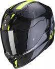Moto přilba SCORPION EXO-520 AIR LATEN černo/neonově žlutá
