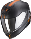 Moto přilba SCORPION EXO-520 AIR LATEN matná černo/oranžová