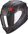 Moto přilba SCORPION EXO-1400 AIR ASIO matná černo/červená