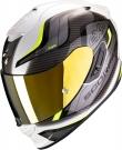 Moto přilba SCORPION EXO-1400 AIR ATTUNE bílo/neonově žlutá