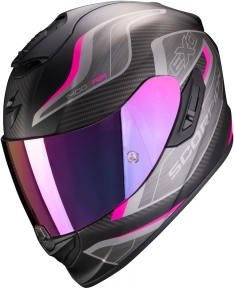 Moto přilba SCORPION EXO-1400 AIR ATTUNE matná černo/růžová