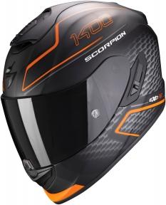 Moto přilba SCORPION EXO-1400 AIR GALAXY matná oranžová